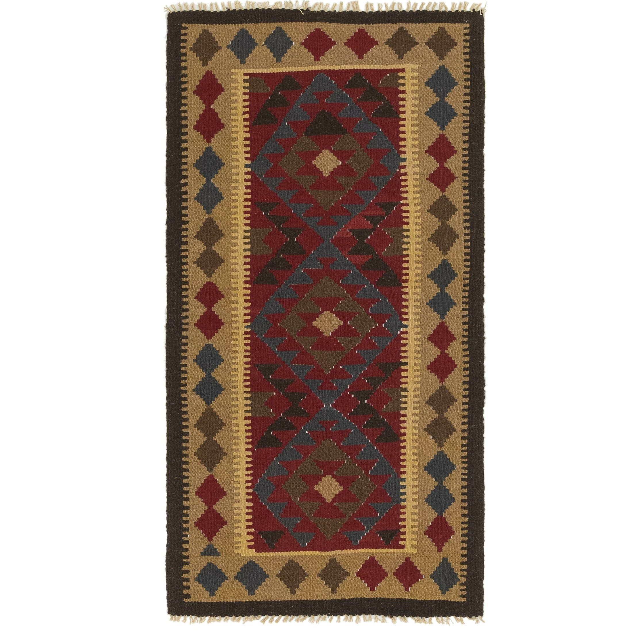 One-of-a-Kind Lorain Hand-Knotted Runner 3'2
