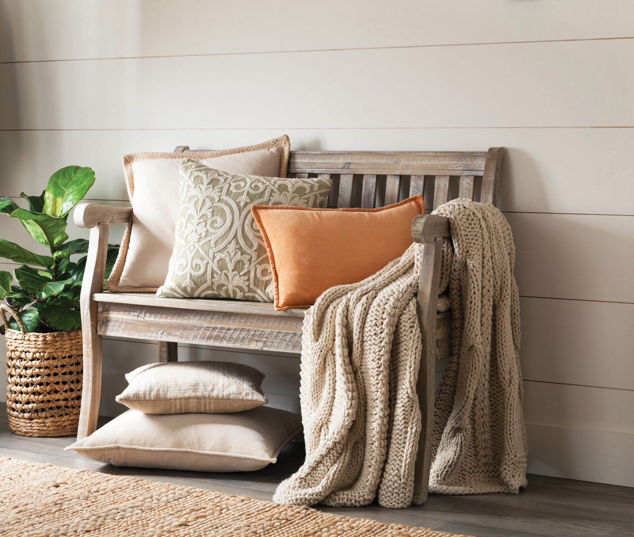 Linen Throw Pillow Color: Sprout Green, Size: 24