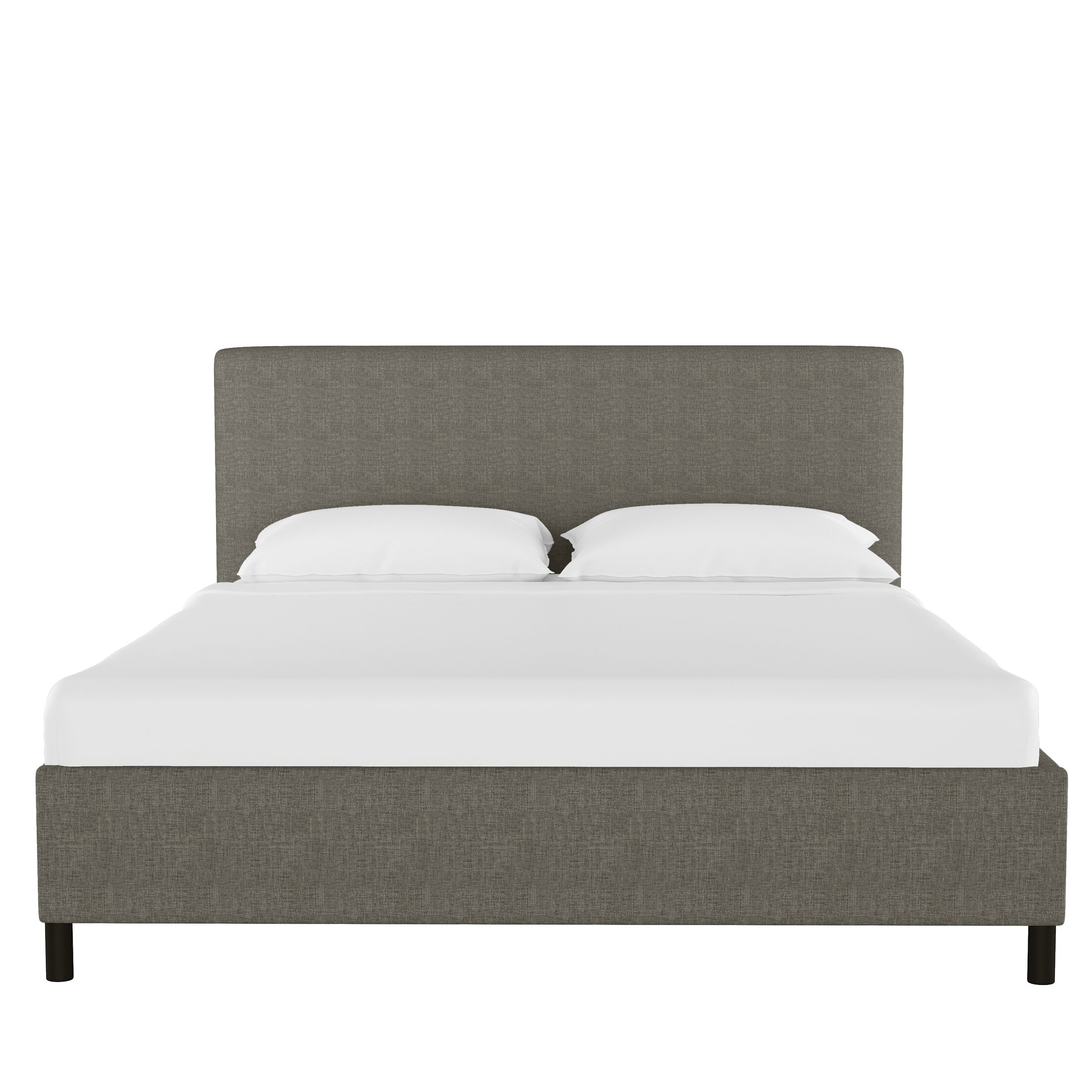 Ball Ground Upholstered Platform Bed Size: Full, Color: Charcoal