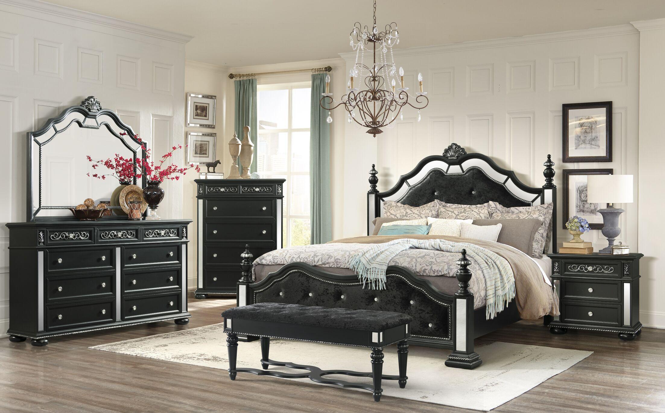 Aaden Four Poster Configurable Bedroom Set