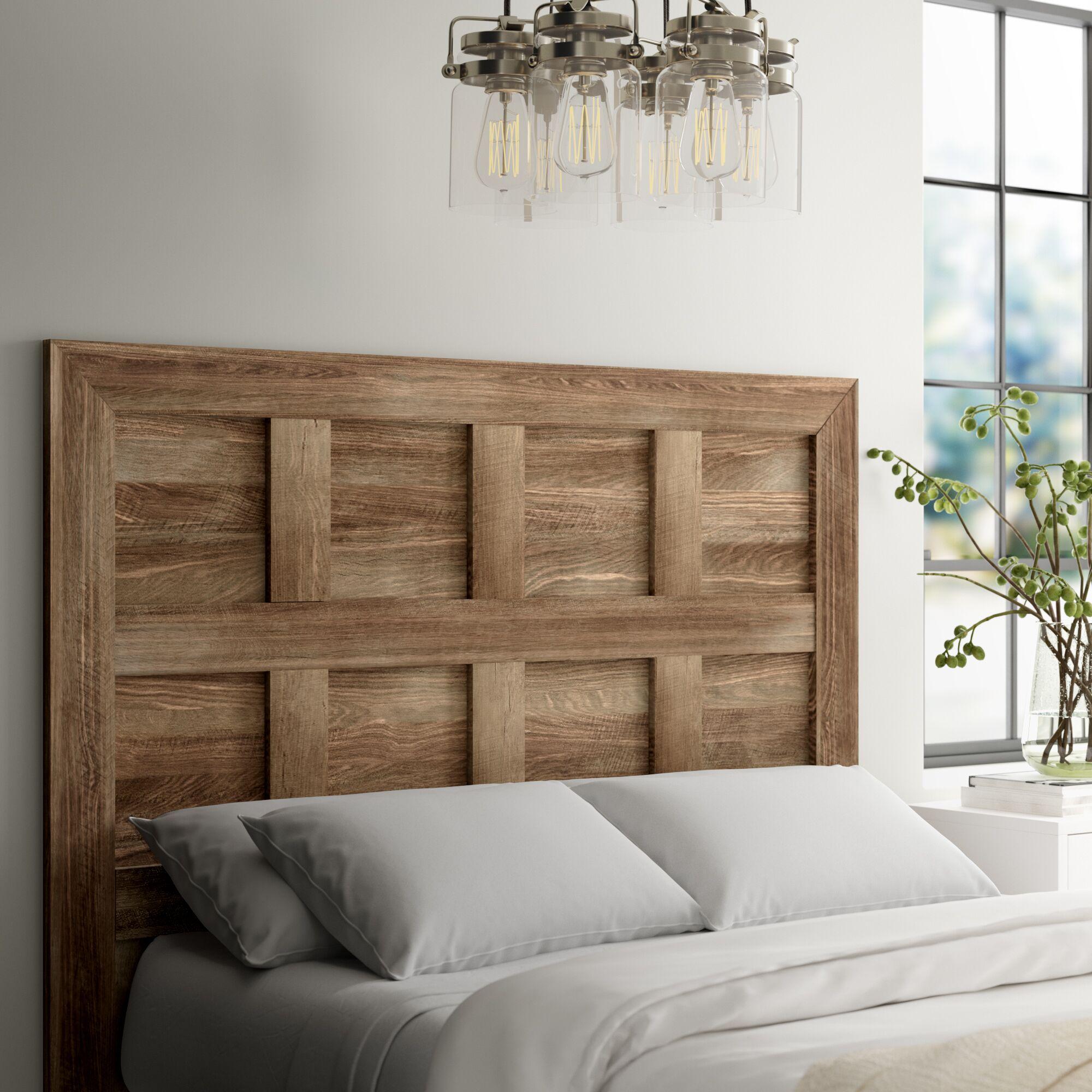 Riddleville Queen Panel Headboard Color: Craftsman Oak