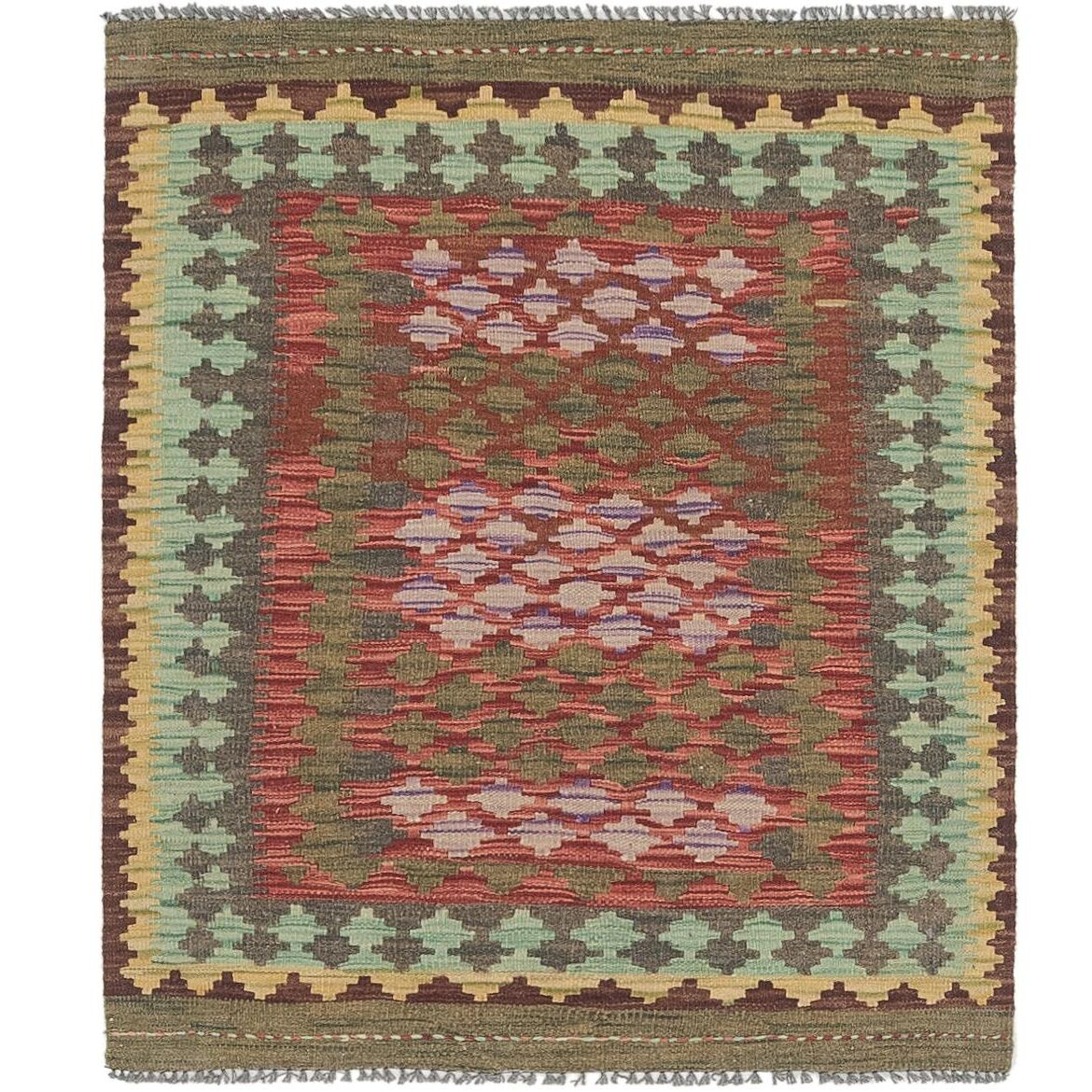 One-of-a-Kind Lorain Hand-Knotted 2'10