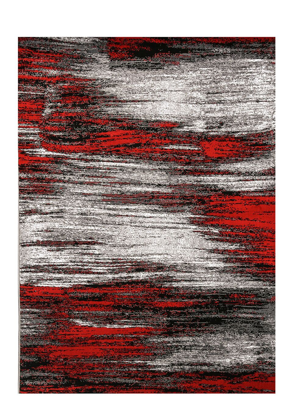 Leatherwood Red/Black Indoor/Outdoor Area Rug Rug Size: Rectangle 5' x 8'