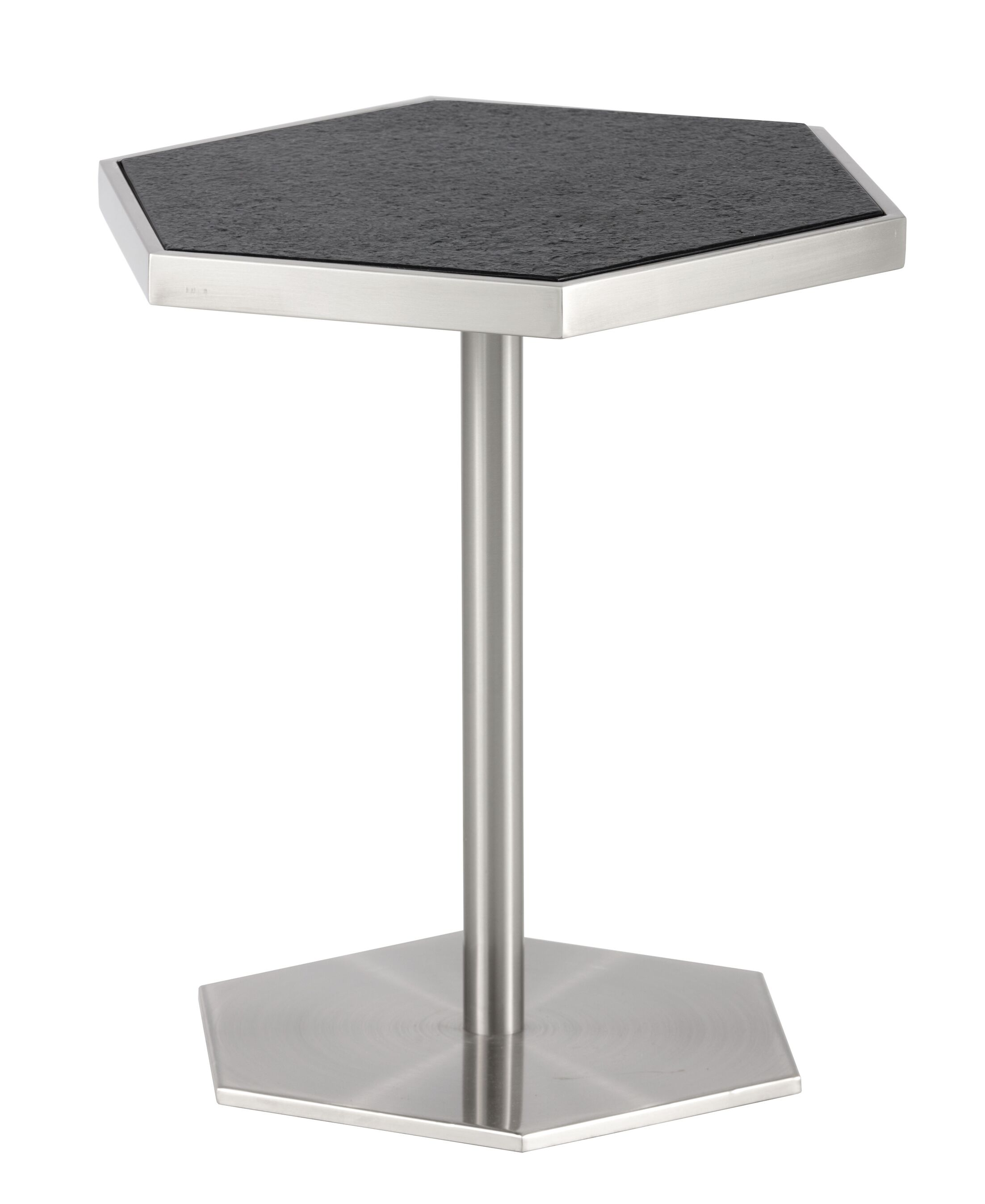 Ikon End Table Table Base Color: Stainless Steel