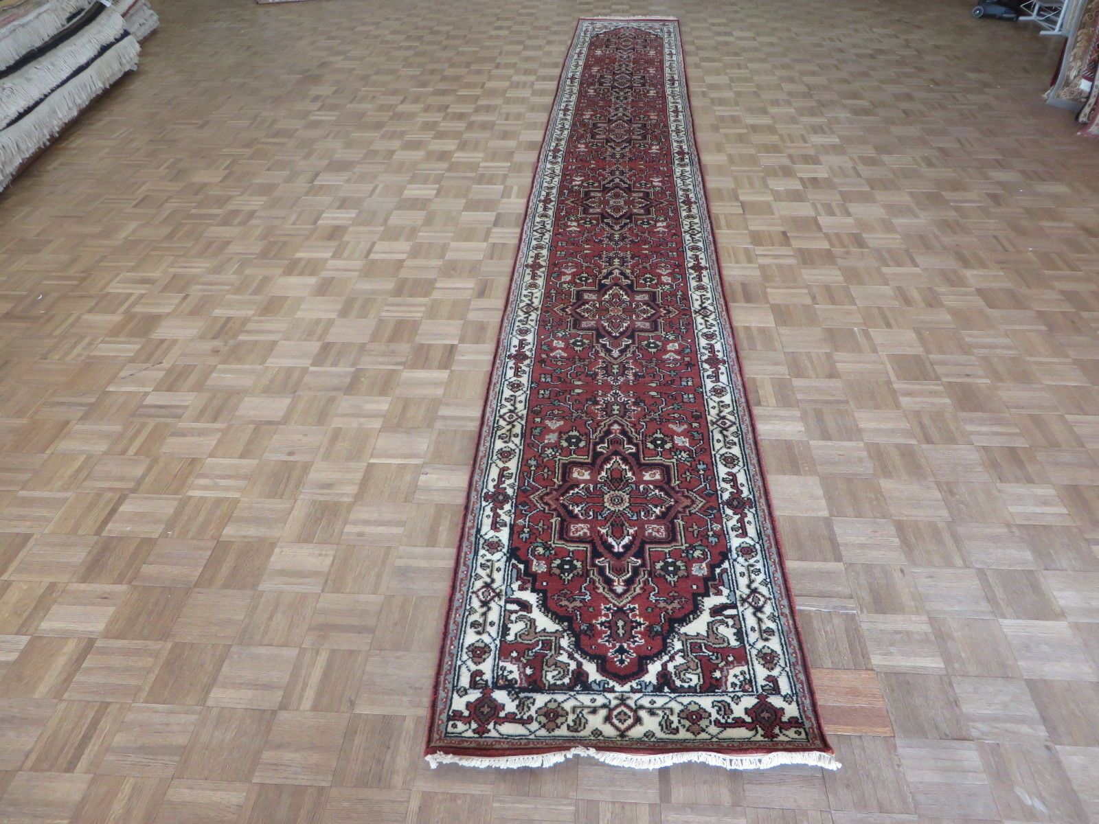 One-of-a-Kind Treasure Serapi Heriz Hand-Knotted 2'8