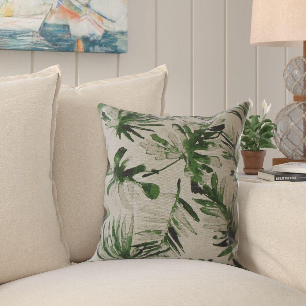 Wiggins Floral Pillow Size: 22