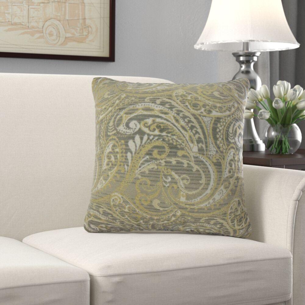 Miah Paisley Pillow Size: 22