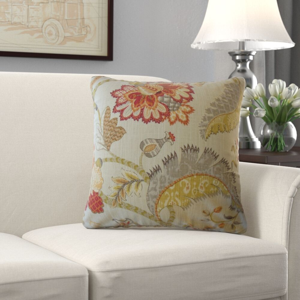 Irie Graphic Cotton Pillow Size: 20