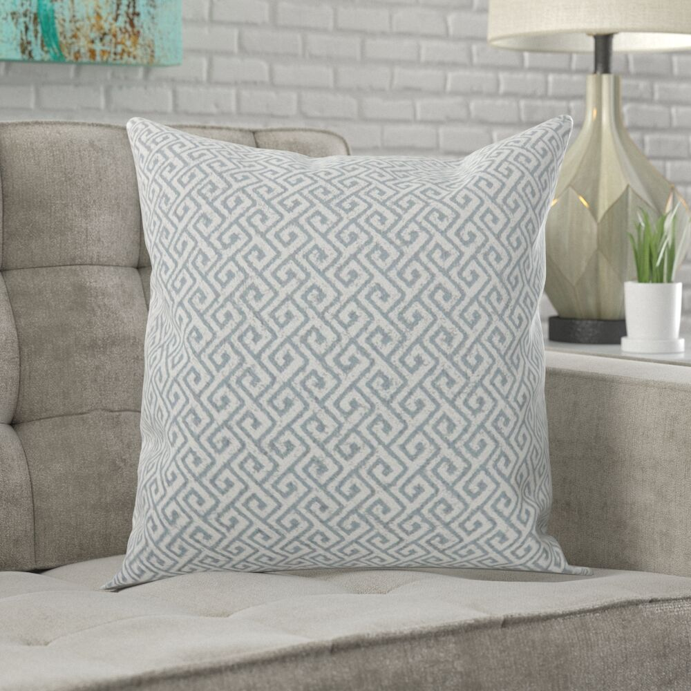 Casanovia Contemporary Diagonal Throw Pillow Size: 22