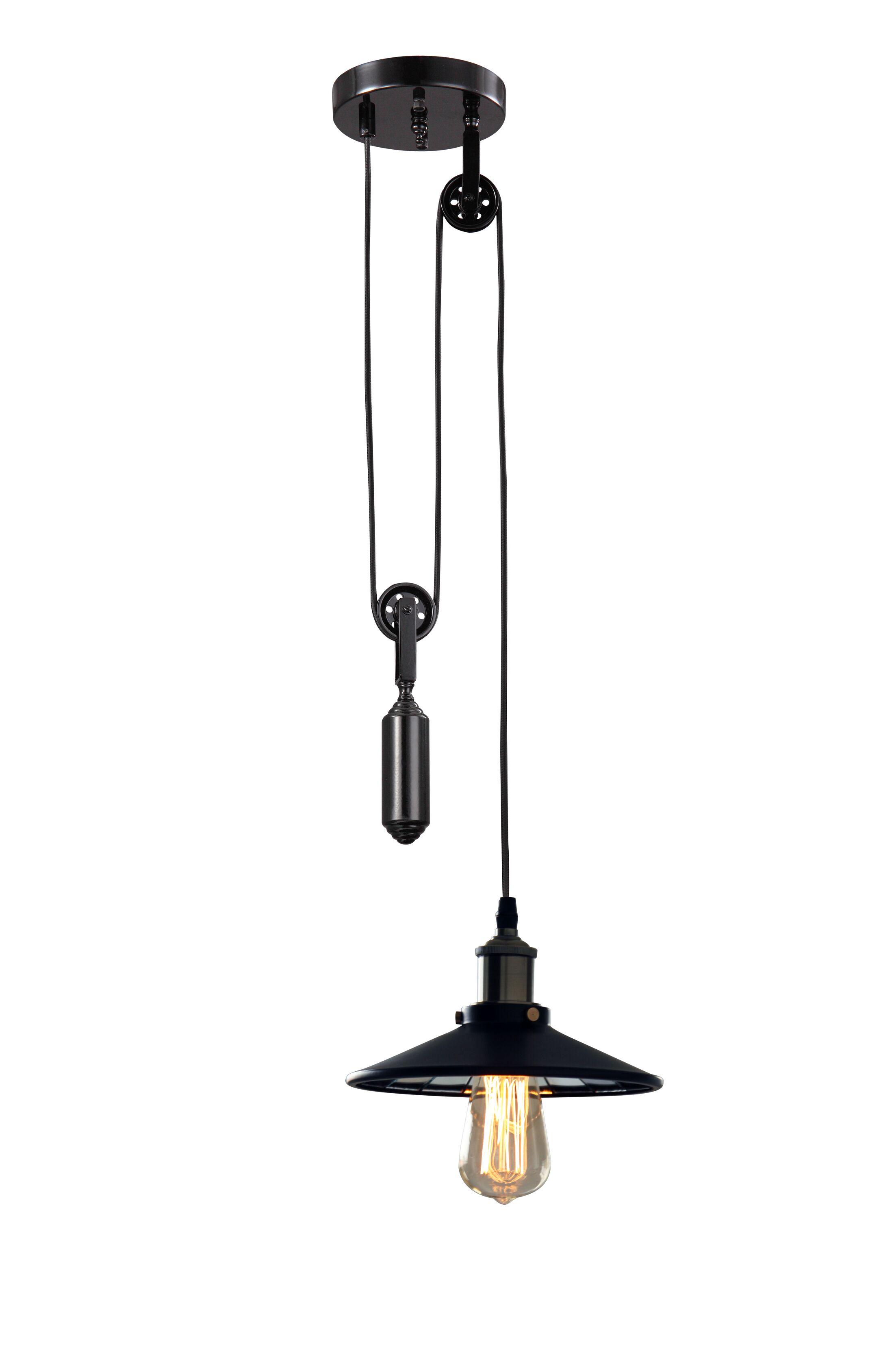 Pulaski 1-Light Bulb Pendant