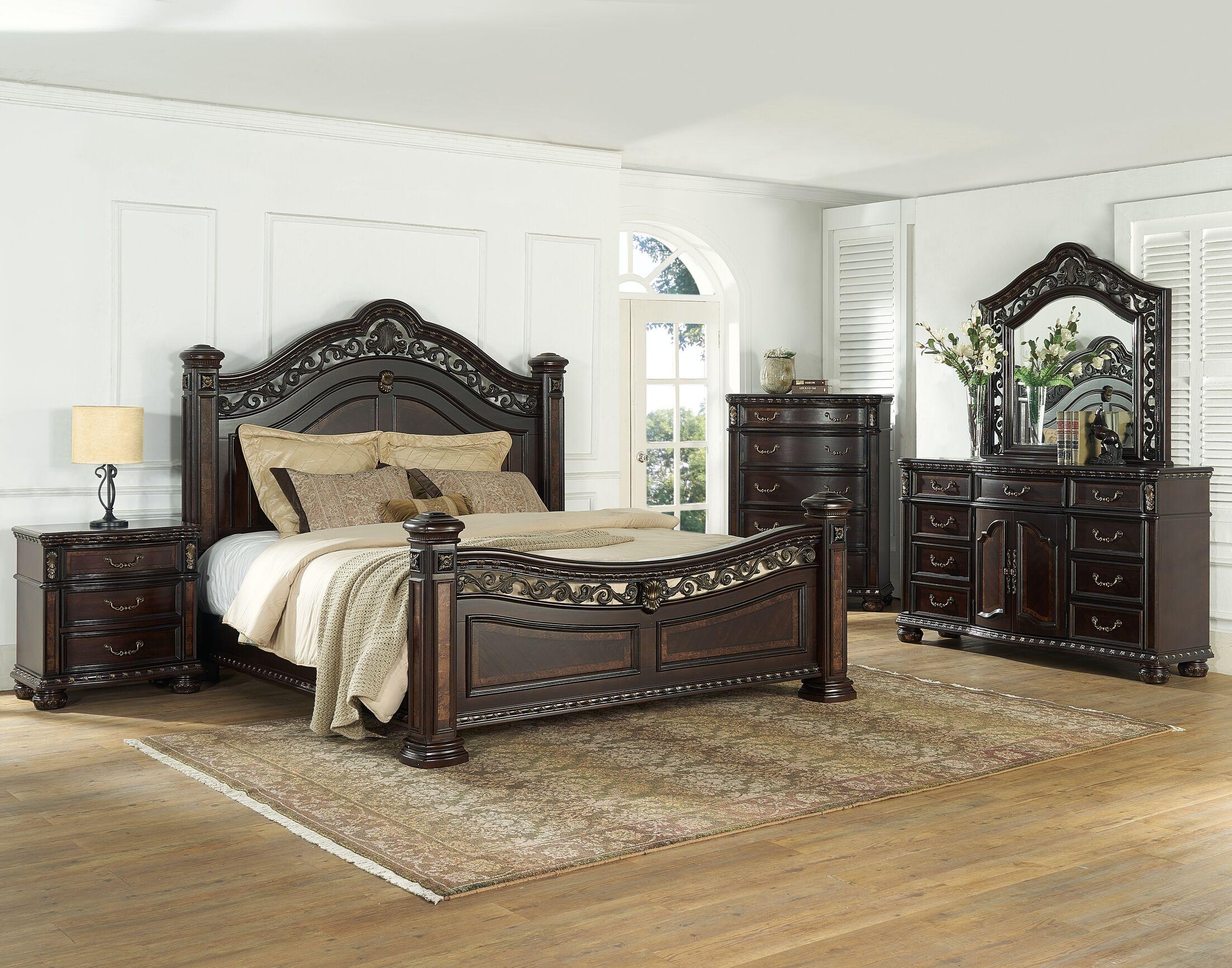 Pinehur Panel Configurable Bedroom Set
