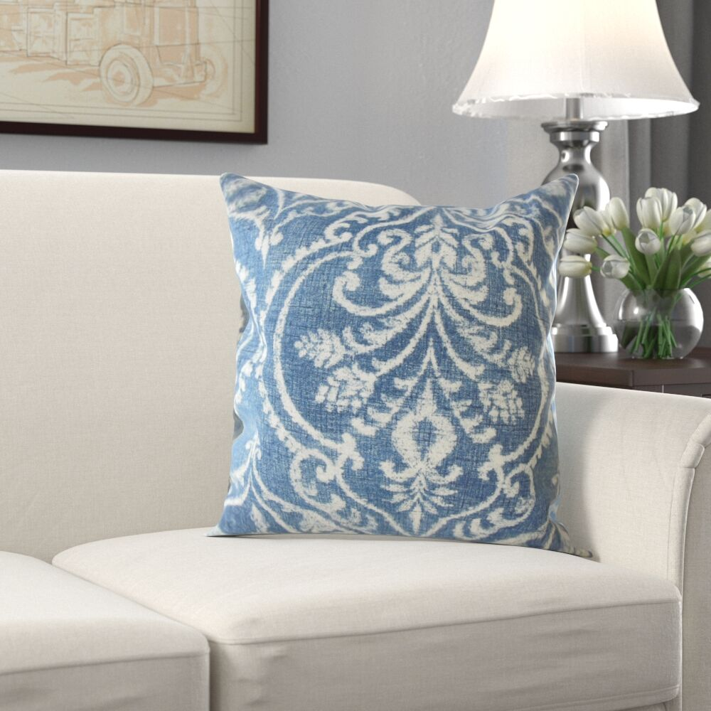 Lonan Ikat Cotton Pillow Size: 20