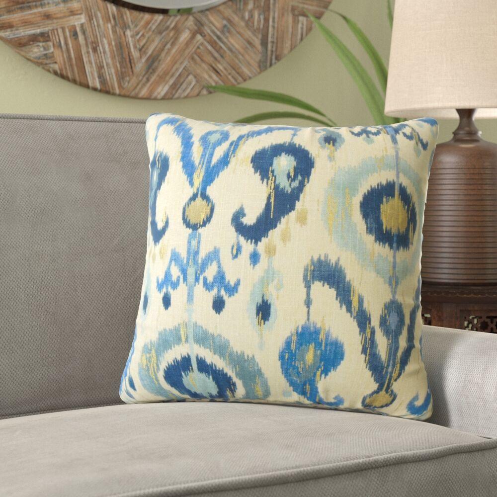 Knutson Ikat Pillow Size: 24