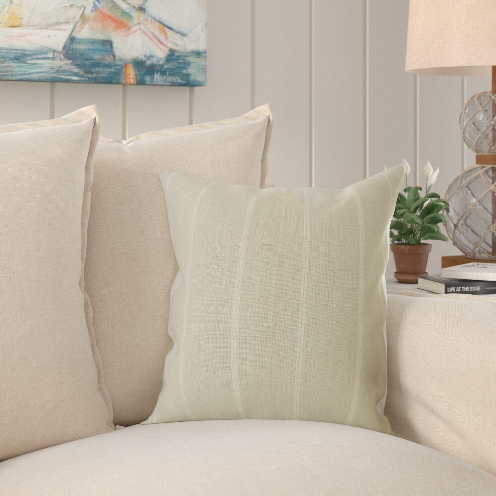 Rosalie Striped Pillow Size: 22