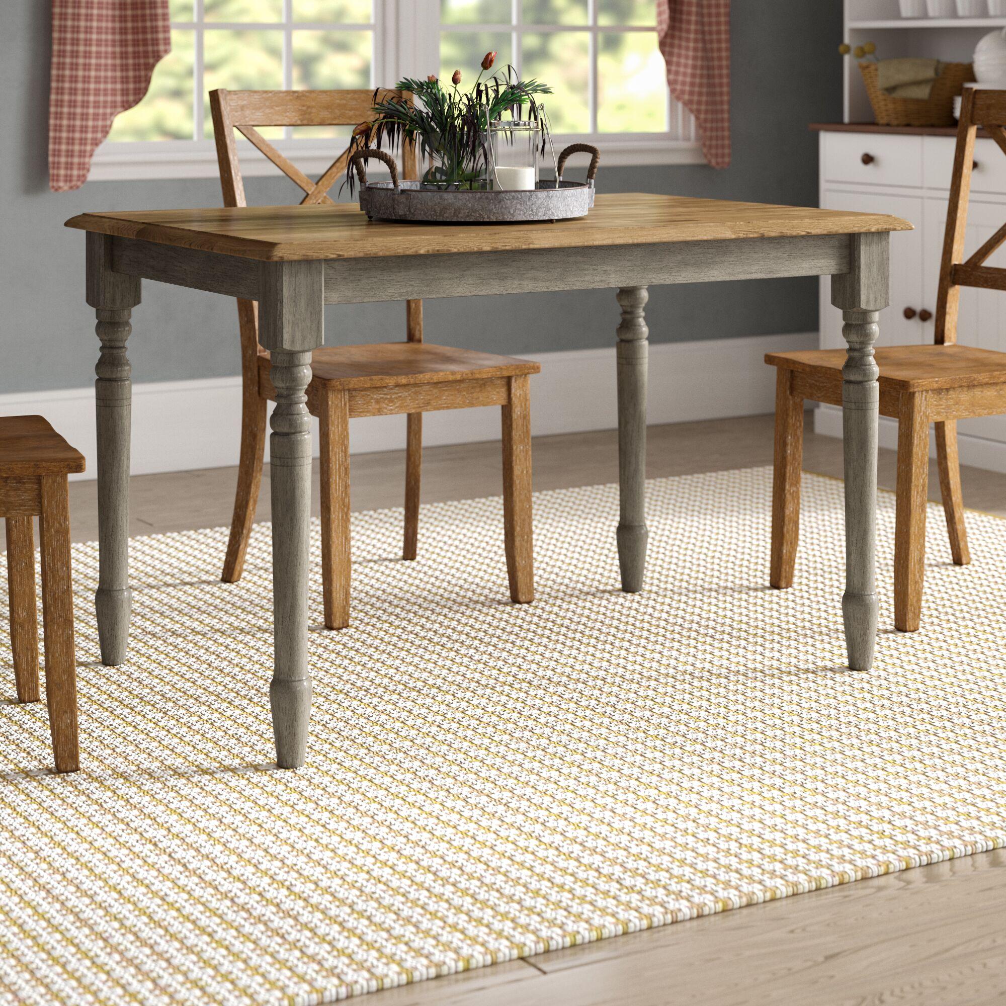 Sima Leg Dining Table Color: Gray