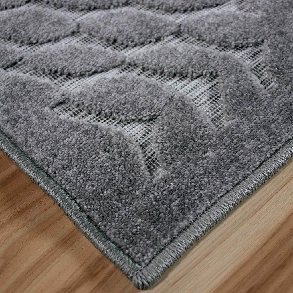 Milner Stone Gray Indoor/Outdoor Area Rug Rug Size: Rectangle 5'1