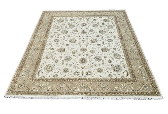 One-of-a-Kind Lovisa Tabriz Hand-Knotted 8'2