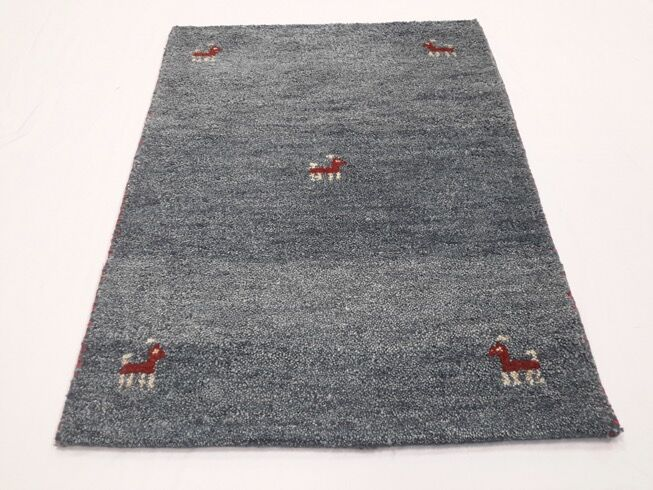 One-of-a-Kind Raheem Gabbeh Hand-Knotted 2'1