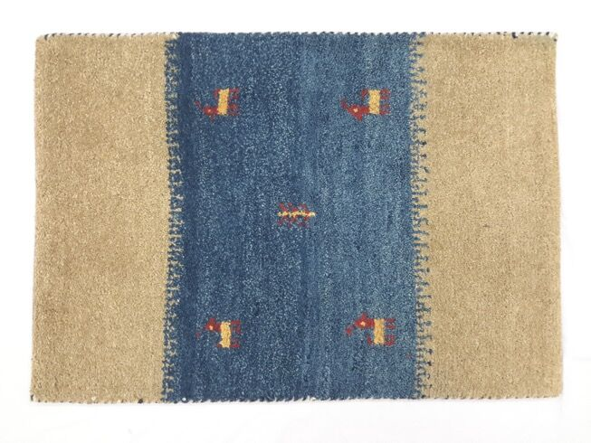 One-of-a-Kind Brylee Gabbeh Hand-Knotted 2' x 2'11