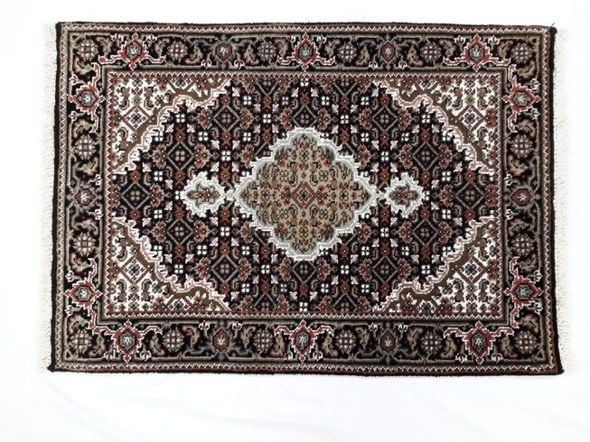 One-of-a-Kind LyannaFish Tabriz Hand-Knotted 2'1