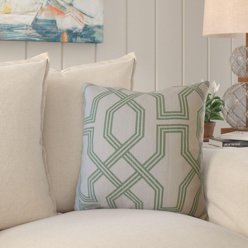 Faye Geometric Pillow Size: 24