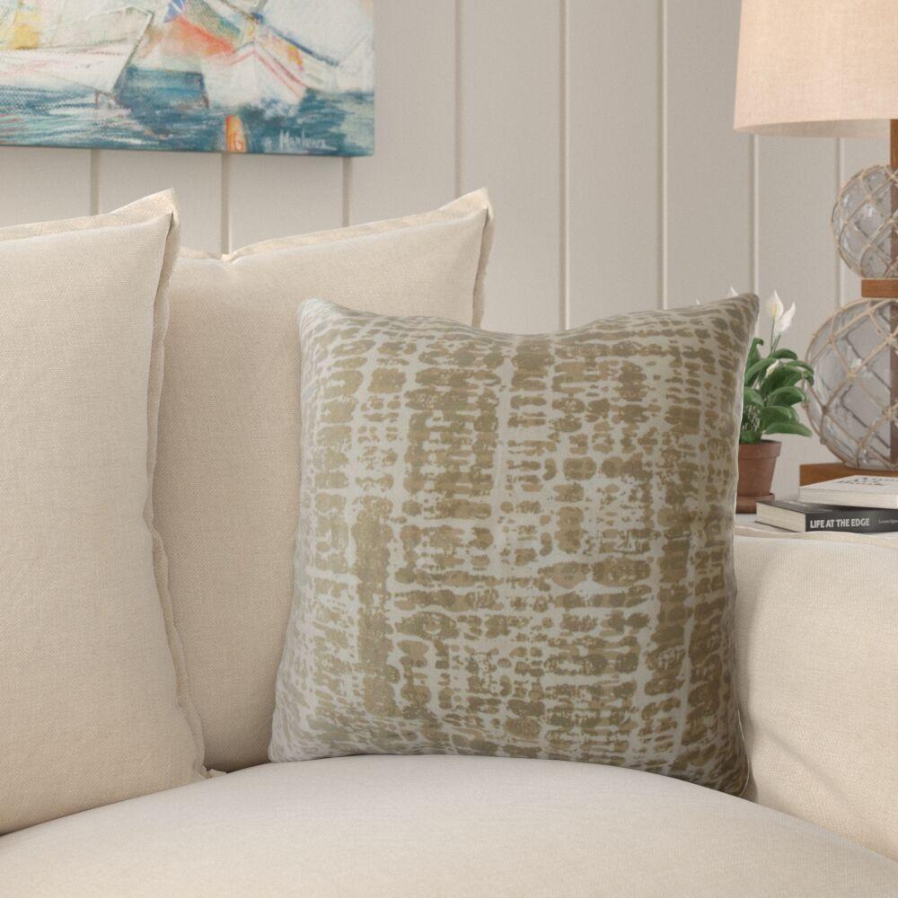 Whitlock Graphic Cotton Pillow Size: 24