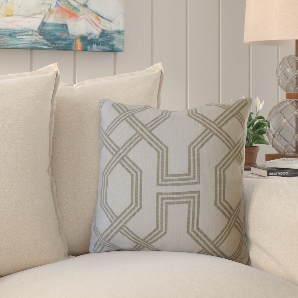 Faye Geometric Pillow Size: 20