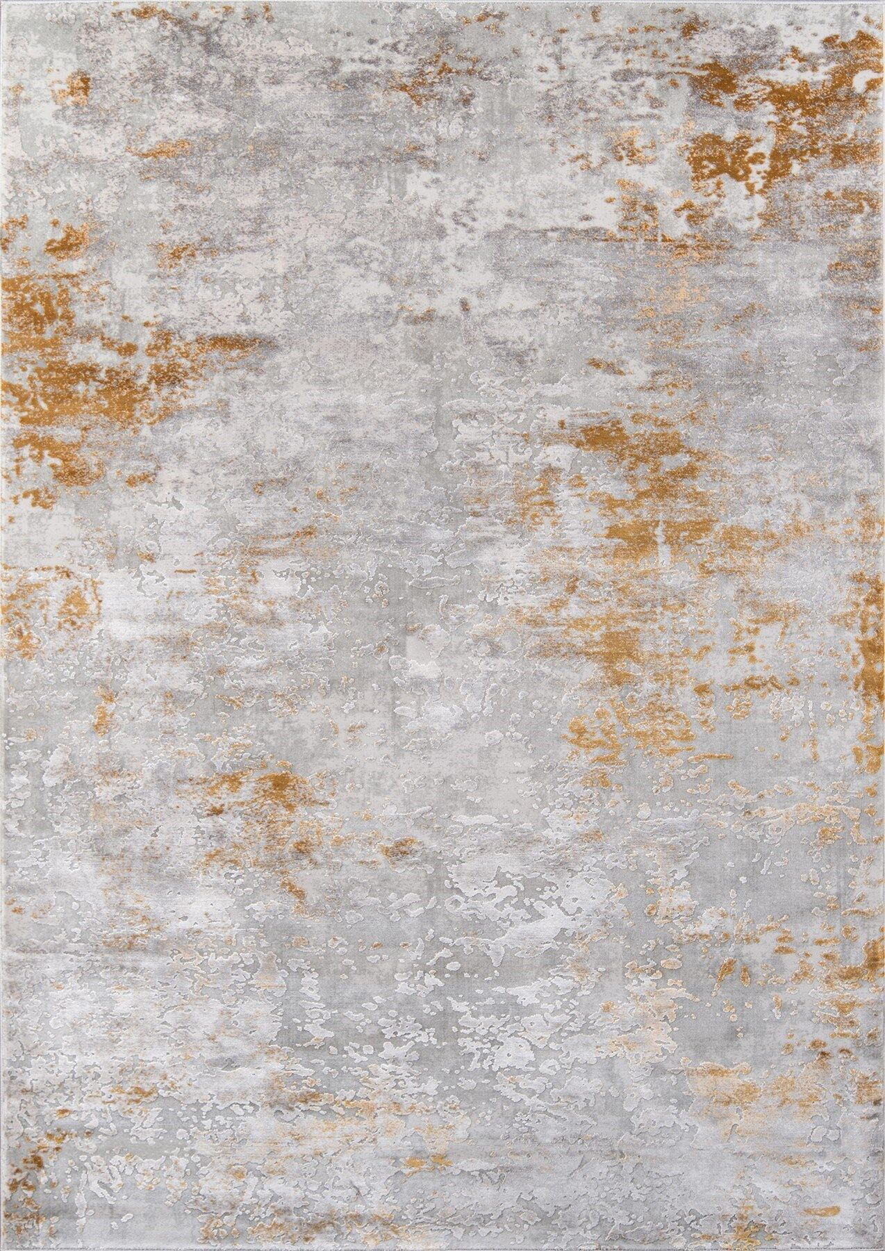 Exmouth Gray Area Rug Rug Size: Rectangle 7'6