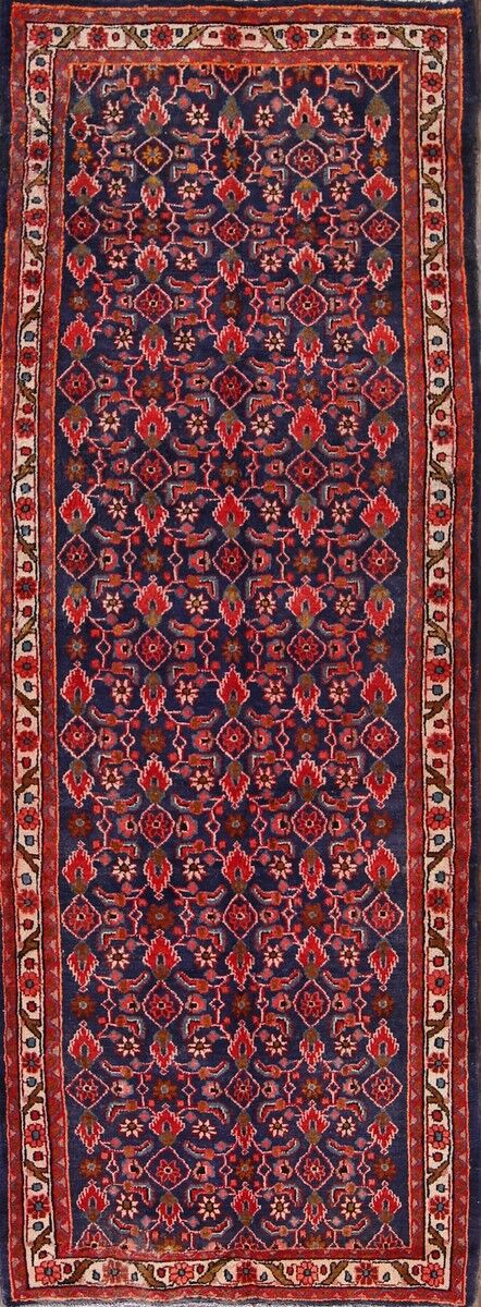 One-of-a-Kind Gilliland Hamadan Persian Hand-Knotted 3'8