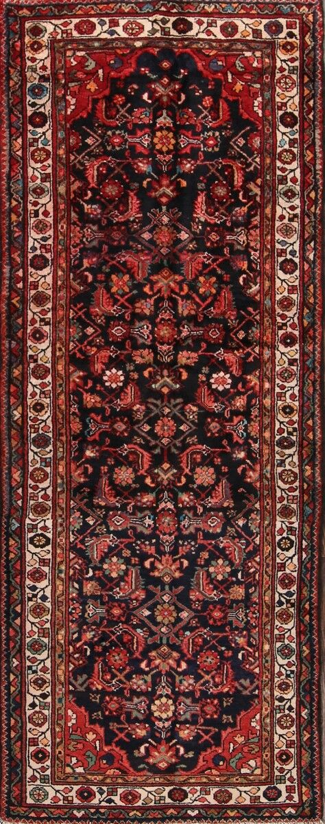 One-of-a-Kind Gingerich Traditional Hamadan Persian Hand-Knotted 3'7