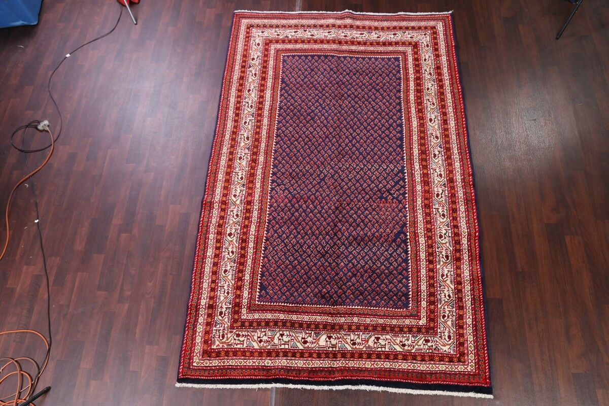 One-of-a-Kind Monona Botemir Persian Traditional Hand-Knotted 6'6