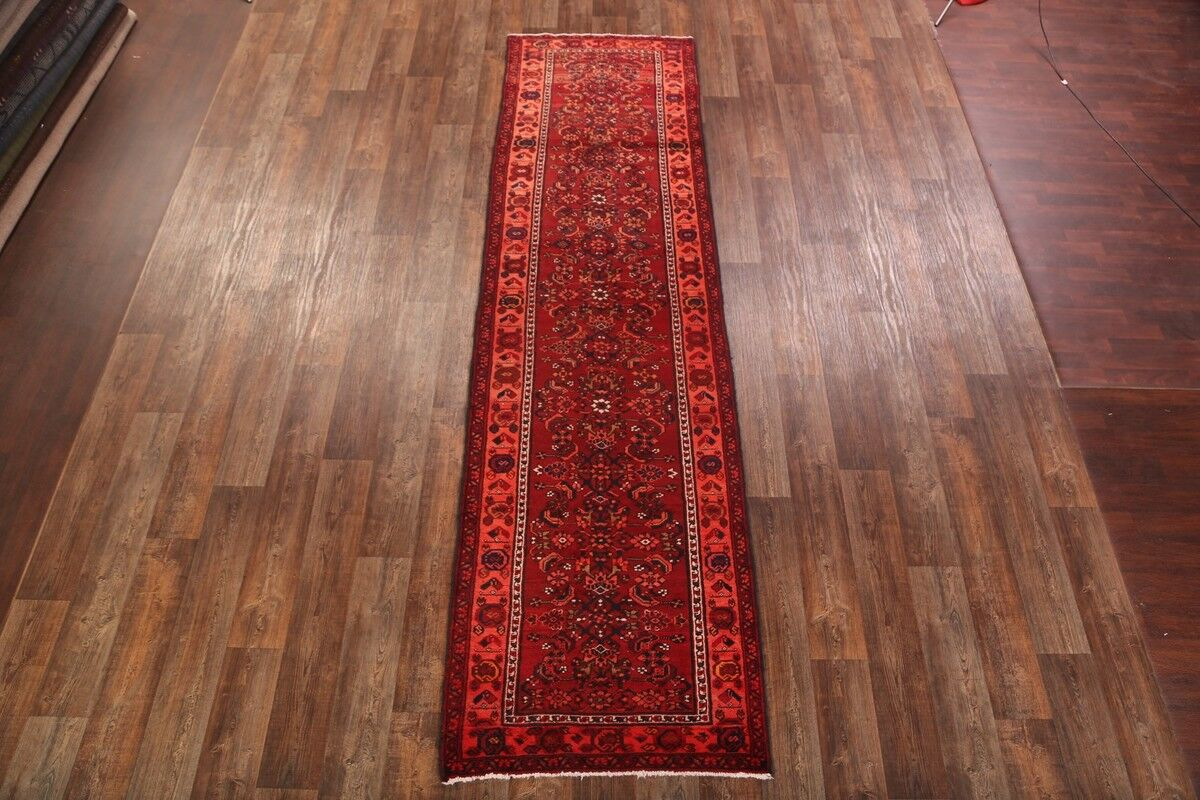 One-of-a-Kind Malayer Vintage Persian Hand-Knotted 3'6