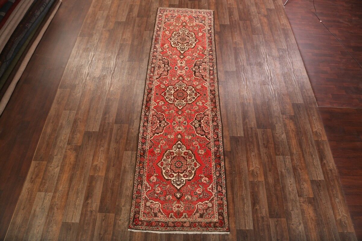 One-of-a-Kind Malayer Classical Persian Vintage Hand-Knotted 3'9
