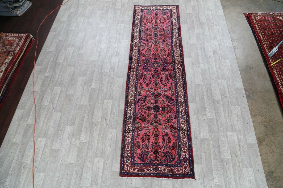 One-of-a-Kind Lilian Hamedan Classical Persian Hand-Knotted 3'6