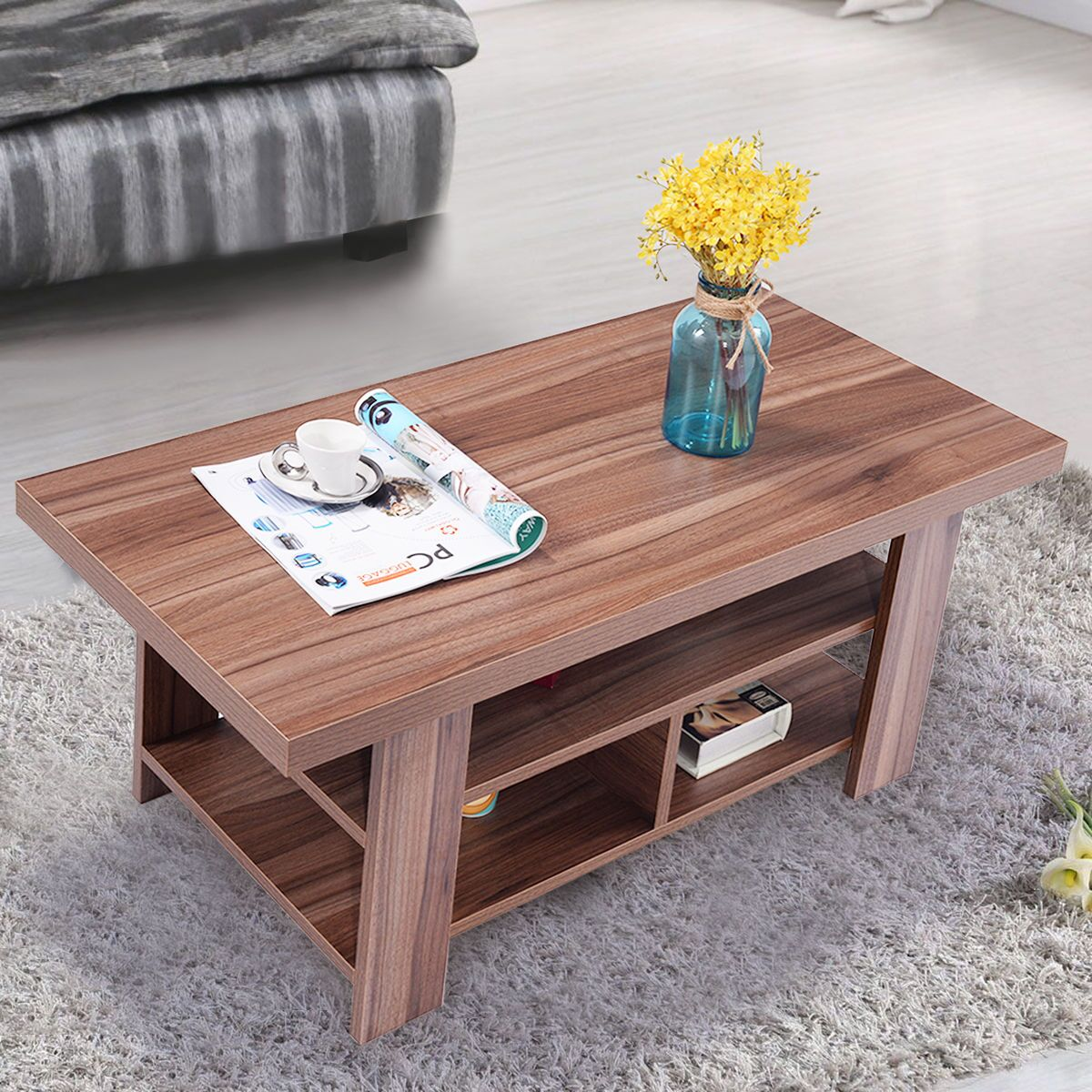 Broadview Coffee Table with Storage