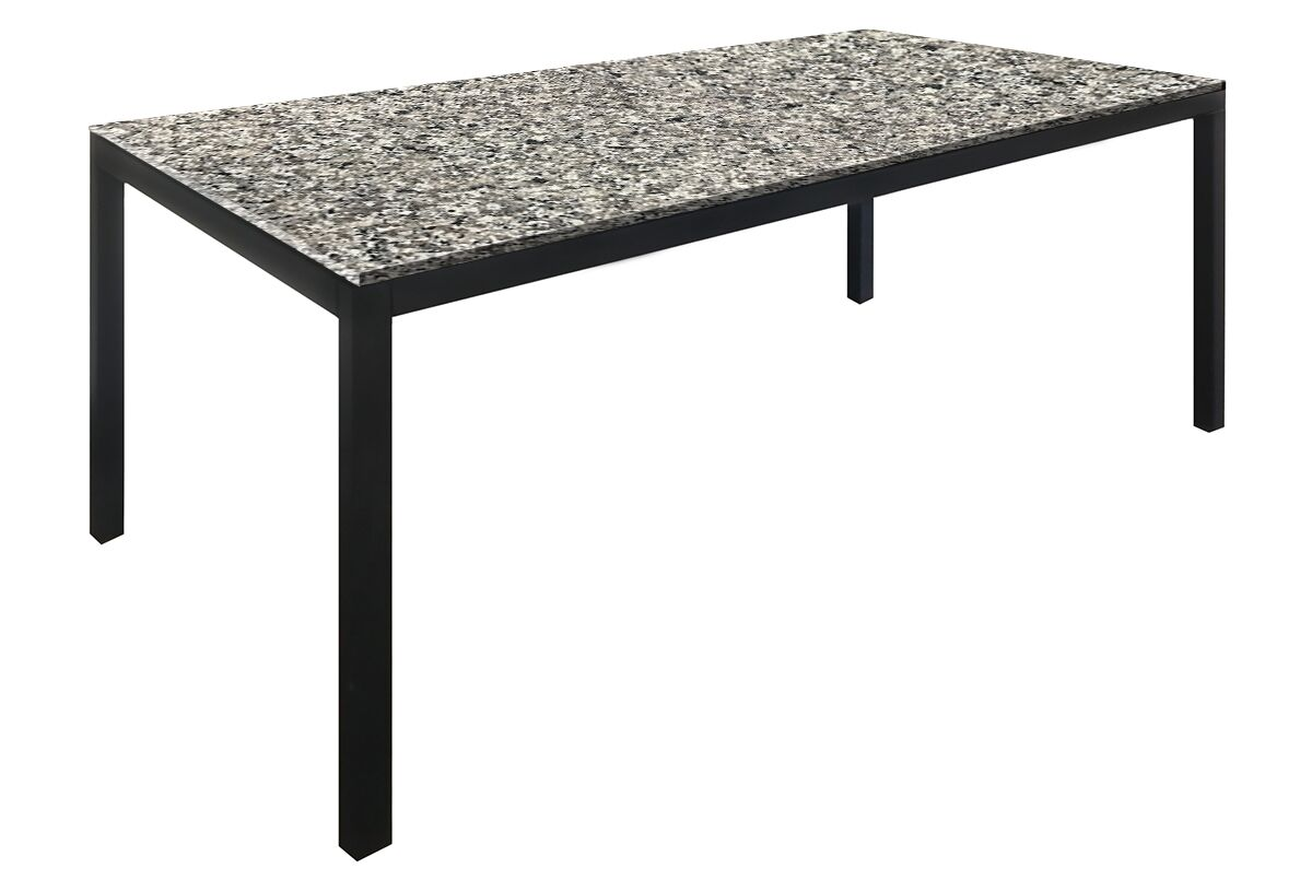 Lom Parsons Dining Table Color: Spanish Gray