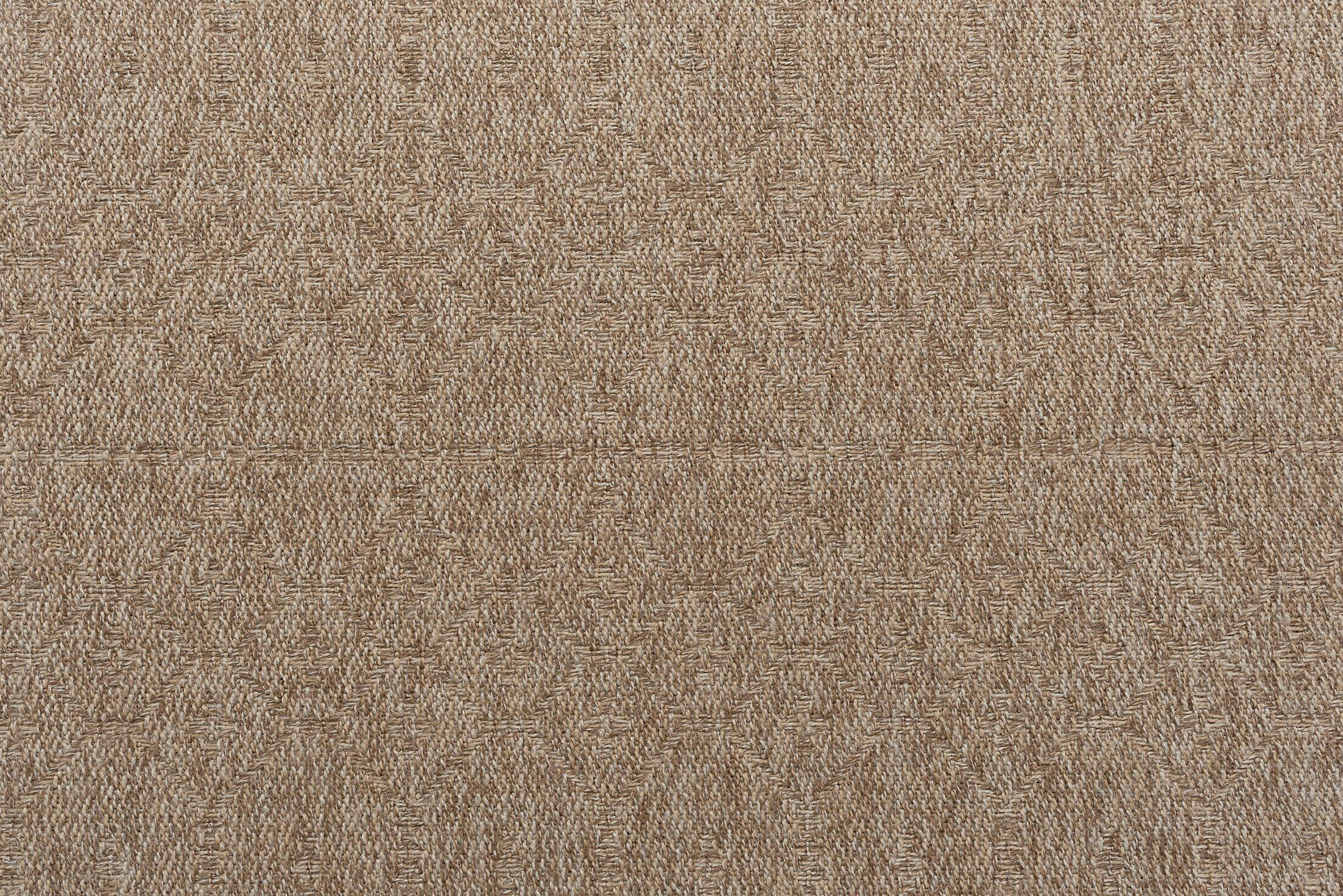 Bourke Modern Beige Indoor/Outdoor Area Rug Rug Size: Rectangle 8'7'' x 12'