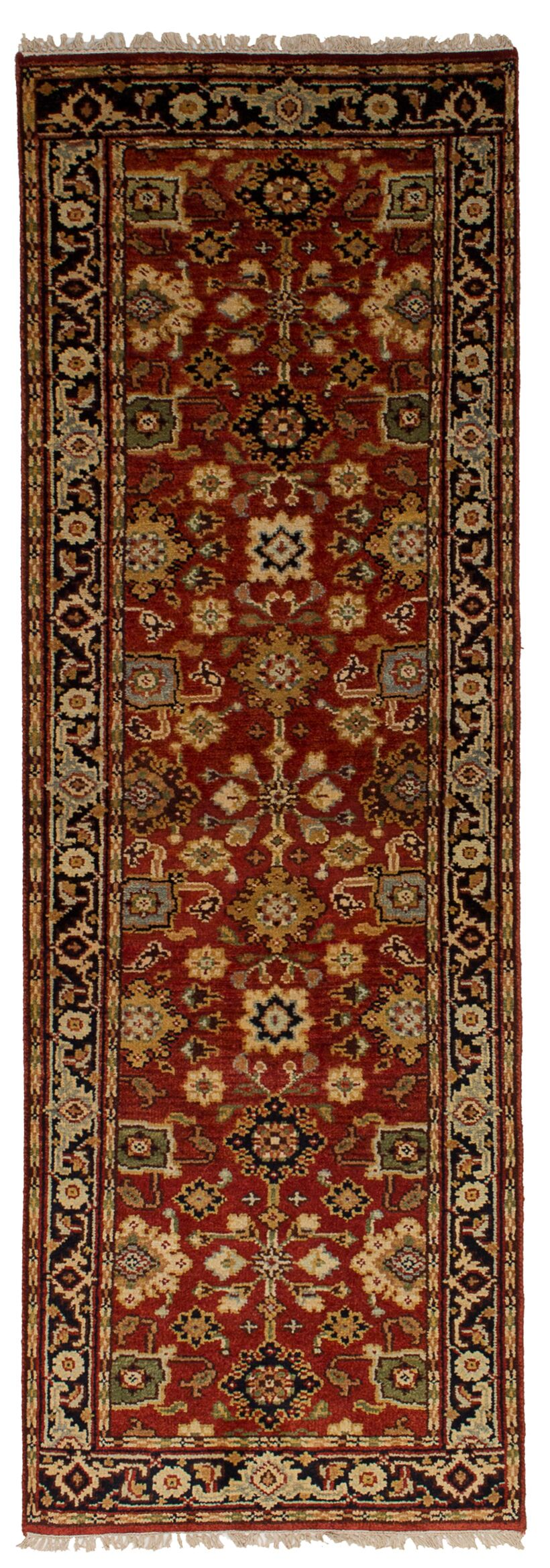 One-of-a-Kind Doerr Hand-Knotted Runner 2'7