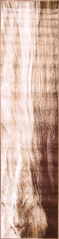 Marazi Beige/Ivory Area Rug Rug Size: Runner 10