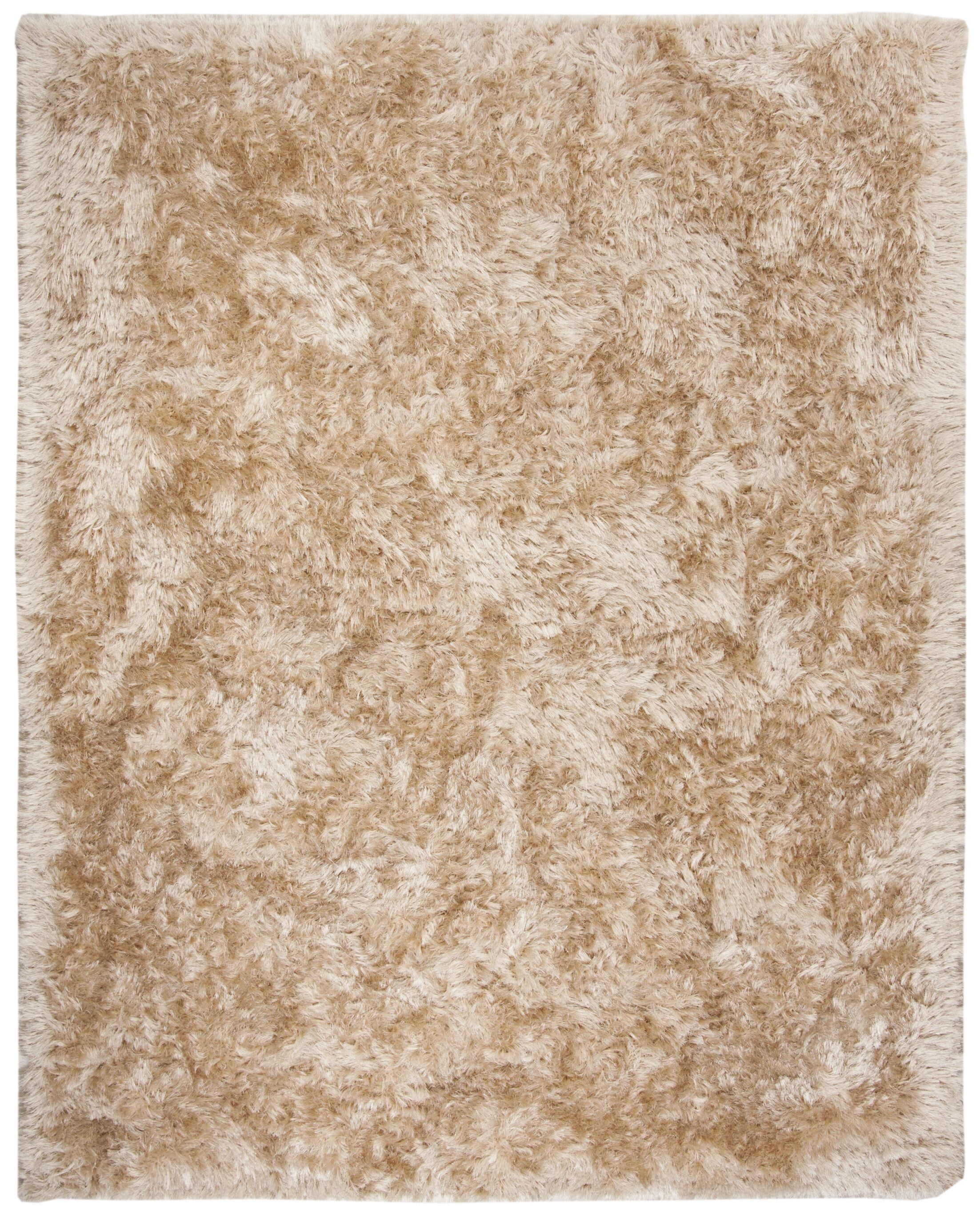 Moultrie Hand-Tufted Beige Area Rug Rug Size: Rectangle 8' X 10'