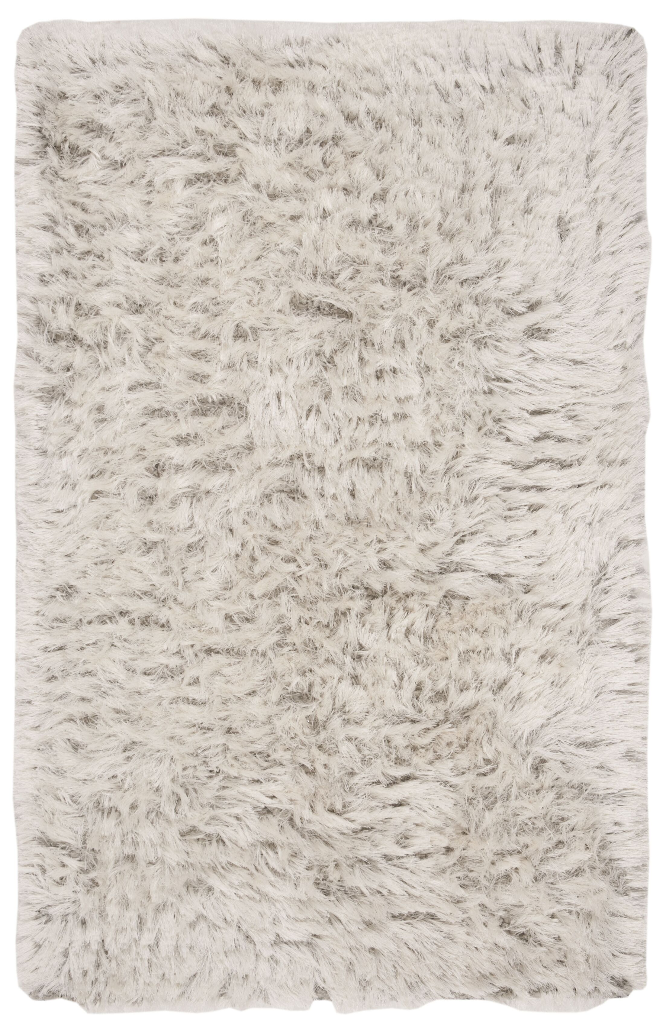 Moultrie Hand-Tufted Light Gray Area Rug Rug Size: Rectangle 3' X 5'