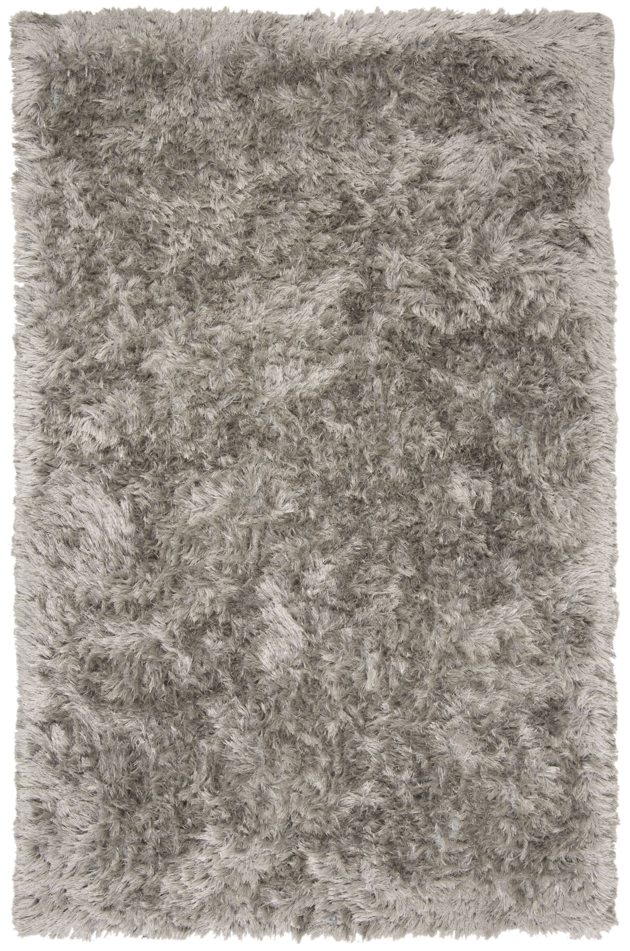 Moultrie Hand-Tufted Silver Area Rug Rug Size: Rectangle 5' X 8'