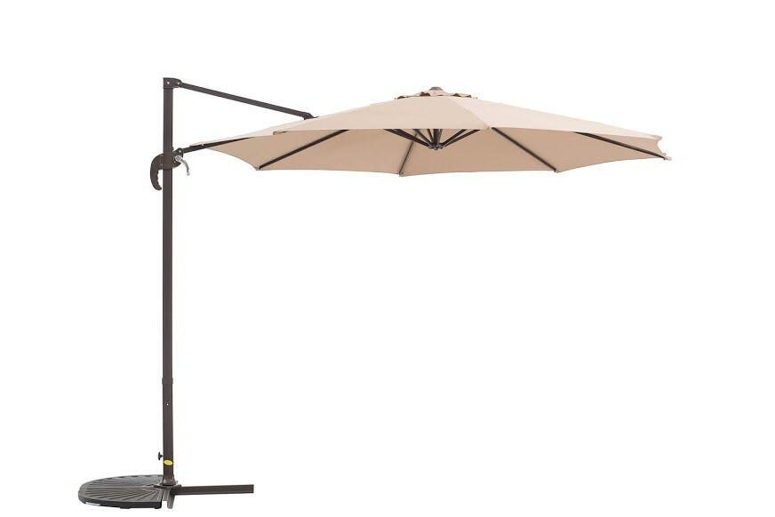 Kulick 9.5' Cantilever Umbrella Fabric Color: Khaki