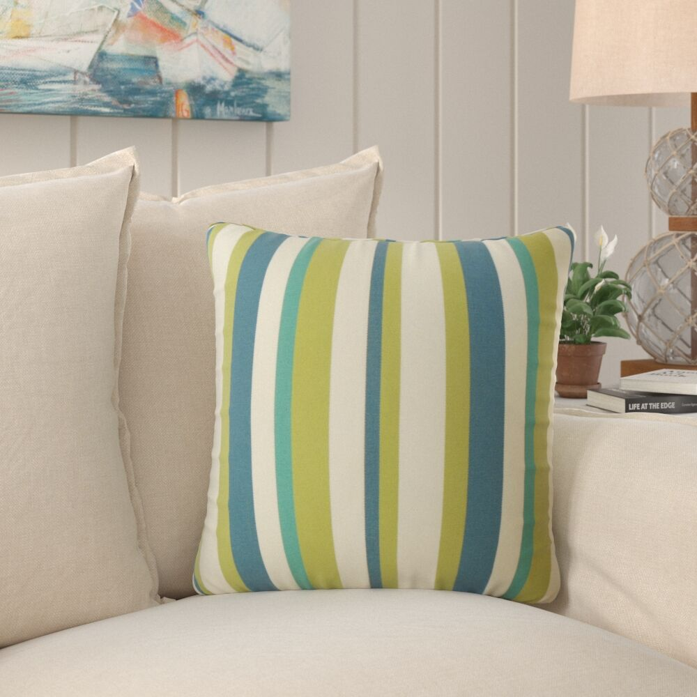 Frostley Striped Pillow Size: 22