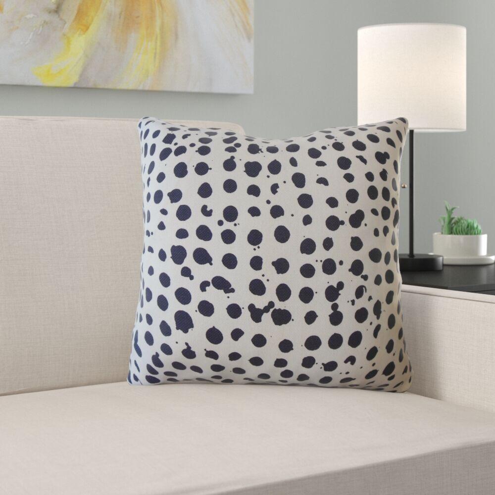 Maeva Polka Dot Pillow Size: 24