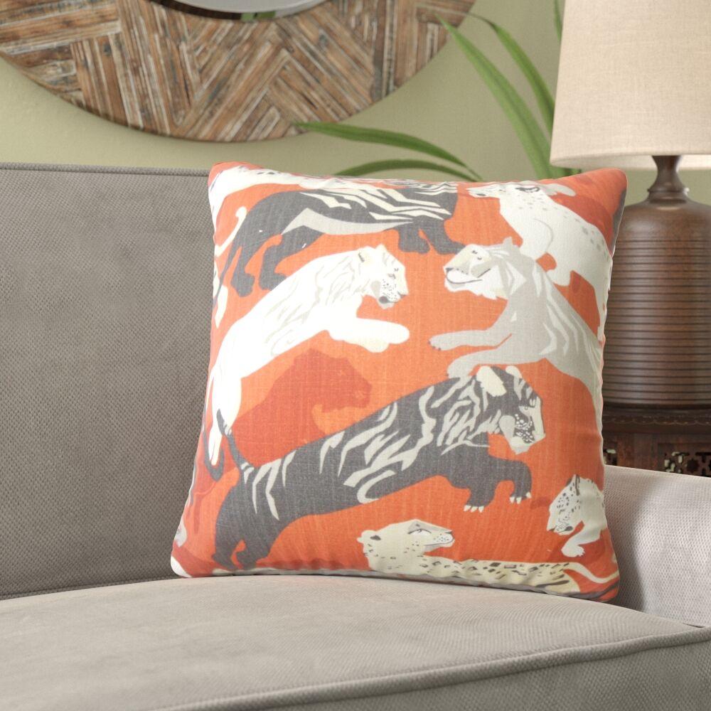Montague Graphic Cotton Pillow Size: 22