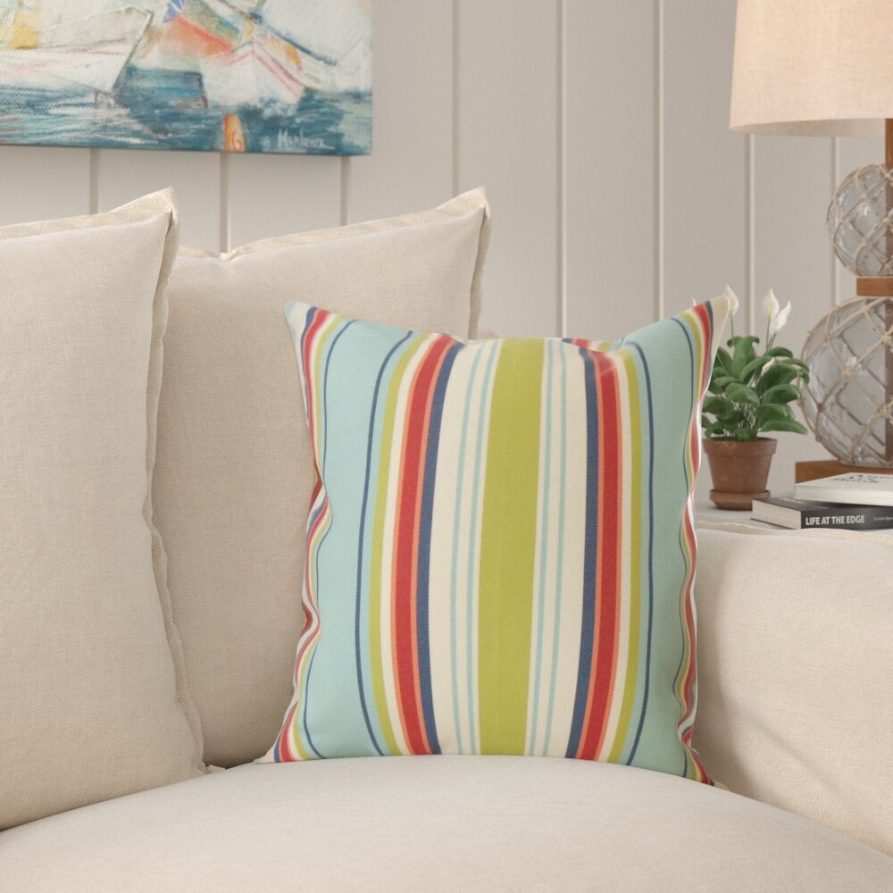 Frostley Striped Pillow Size: 24
