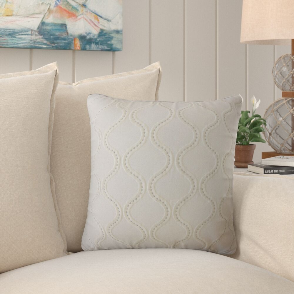 Streeter Embellished Pillow Size: 22