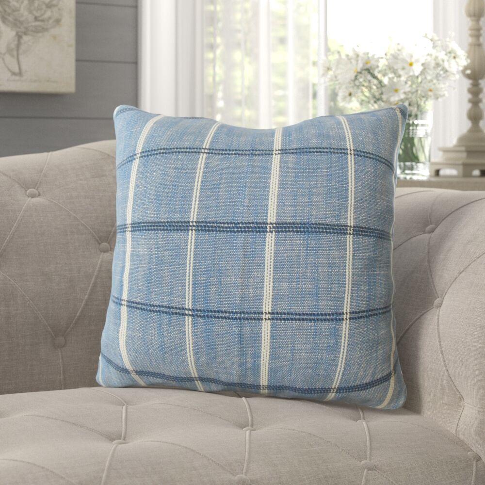 Melendez Plaid Pillow Size: 20