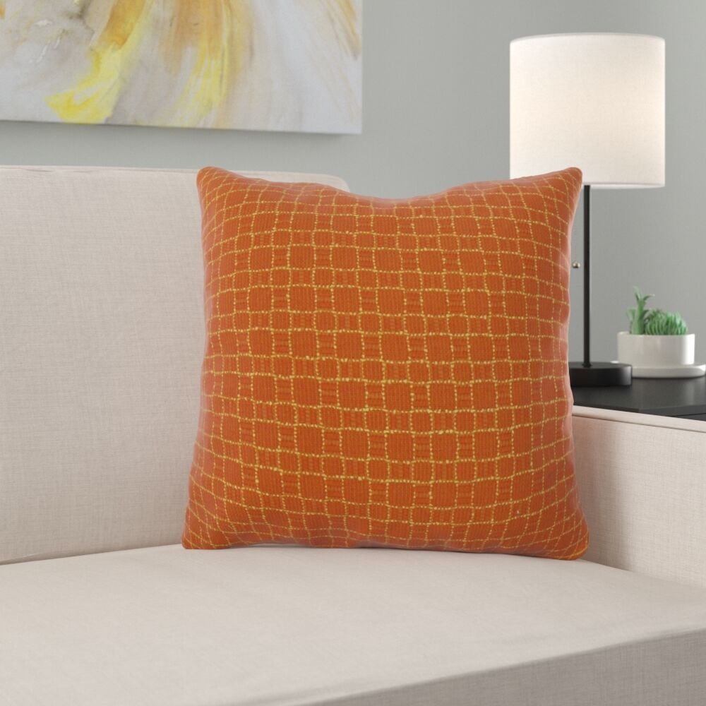 Sunday Plaid Pillow Size: 20